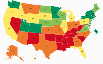 Utah Ranks 6th on the U.S. Prosperity Index, Nevada 46th
